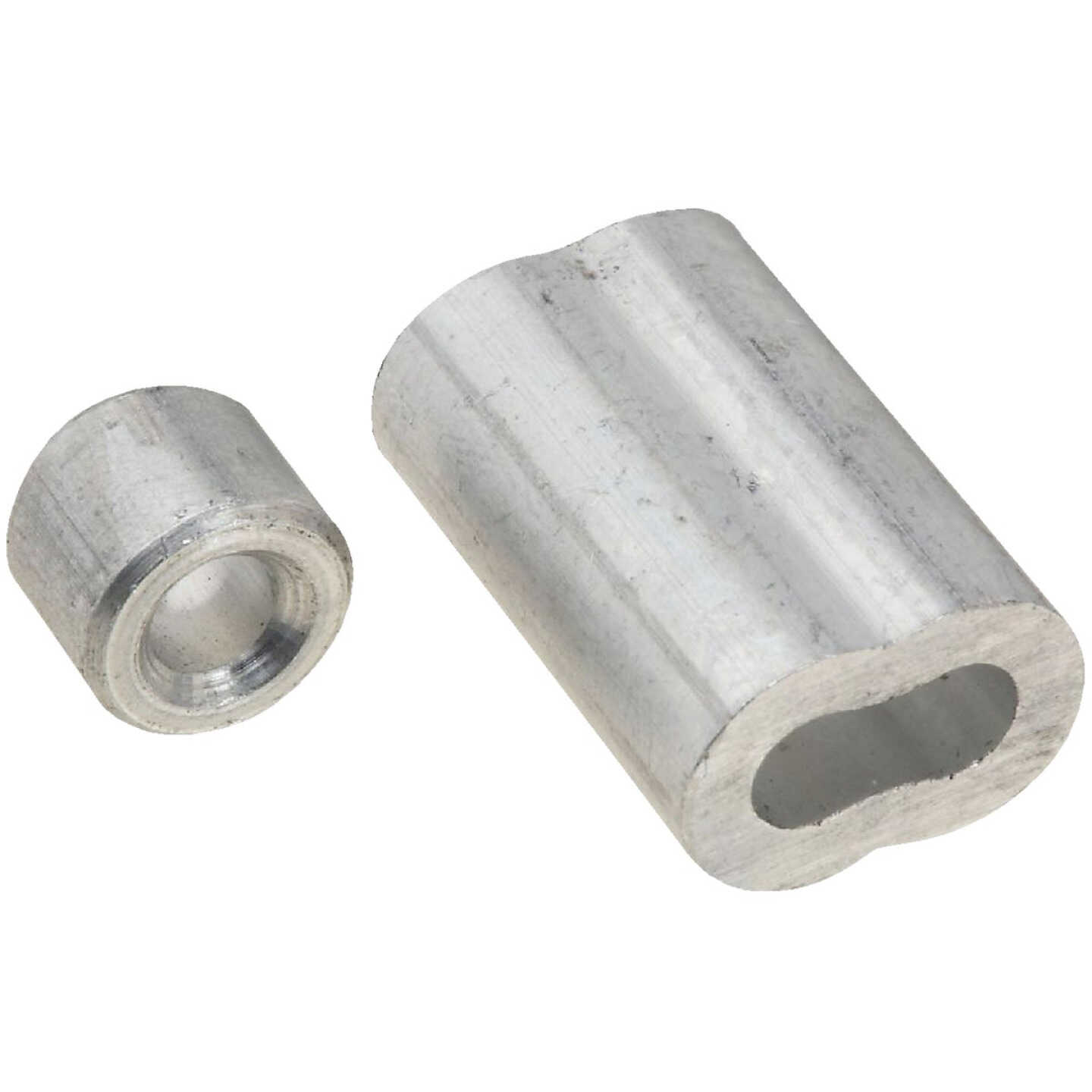 """Prime-Line Cable Ferrules and Stops, 3/16"""", Aluminum Image 1"""