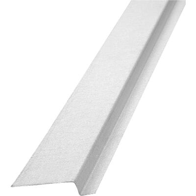 NorWesco 3/8 In. x 3/8 In. x 2-1/4 In. x 10 Ft. Mill Galvanized Ply Edge Z-Style Flashing