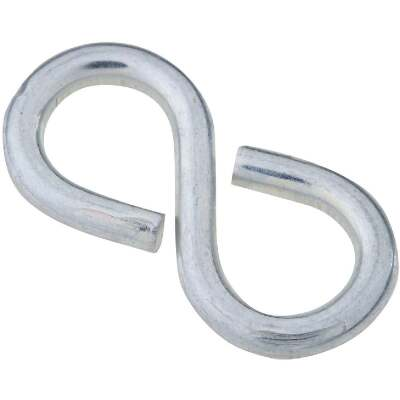 National 1-1/4 In. Zinc Light Closed S Hook
