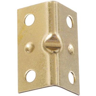 National Catalog V113 Series 1-1/2 In. x 3/4 In. Brass Corner Brace (4-Count)