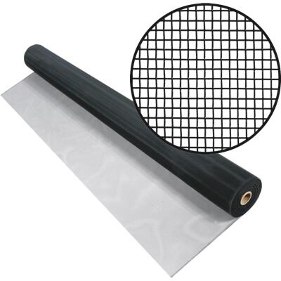 Phifer 30 In. x 100 Ft. Charcoal Aluminum Screen