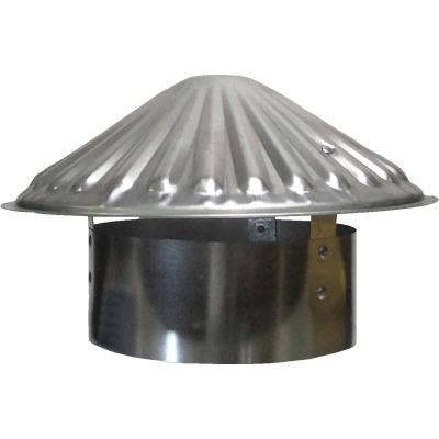 S & K Galvanized Steel 7 In. x 11 In. Vent Pipe Cap