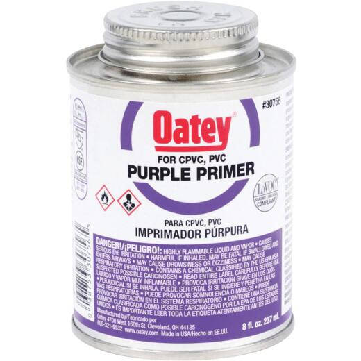 Oatey 8 Oz. Purple Pipe and Fitting Primer for PVC/CPVC
