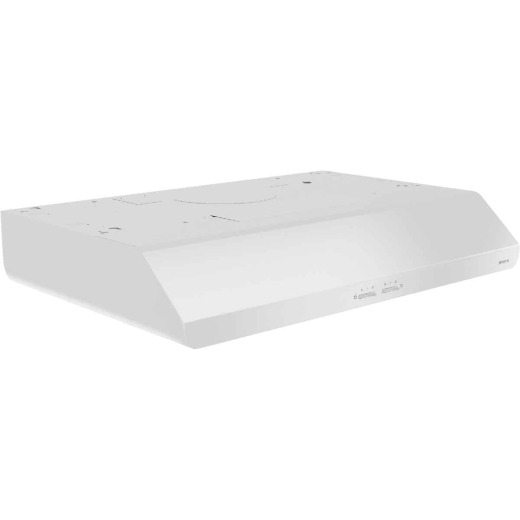 Broan Sahale 30 In. Convertible White Range Hood
