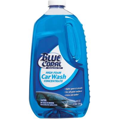 Blue Coral 64 Oz. Liquid High Foam Concentrate Car Wash