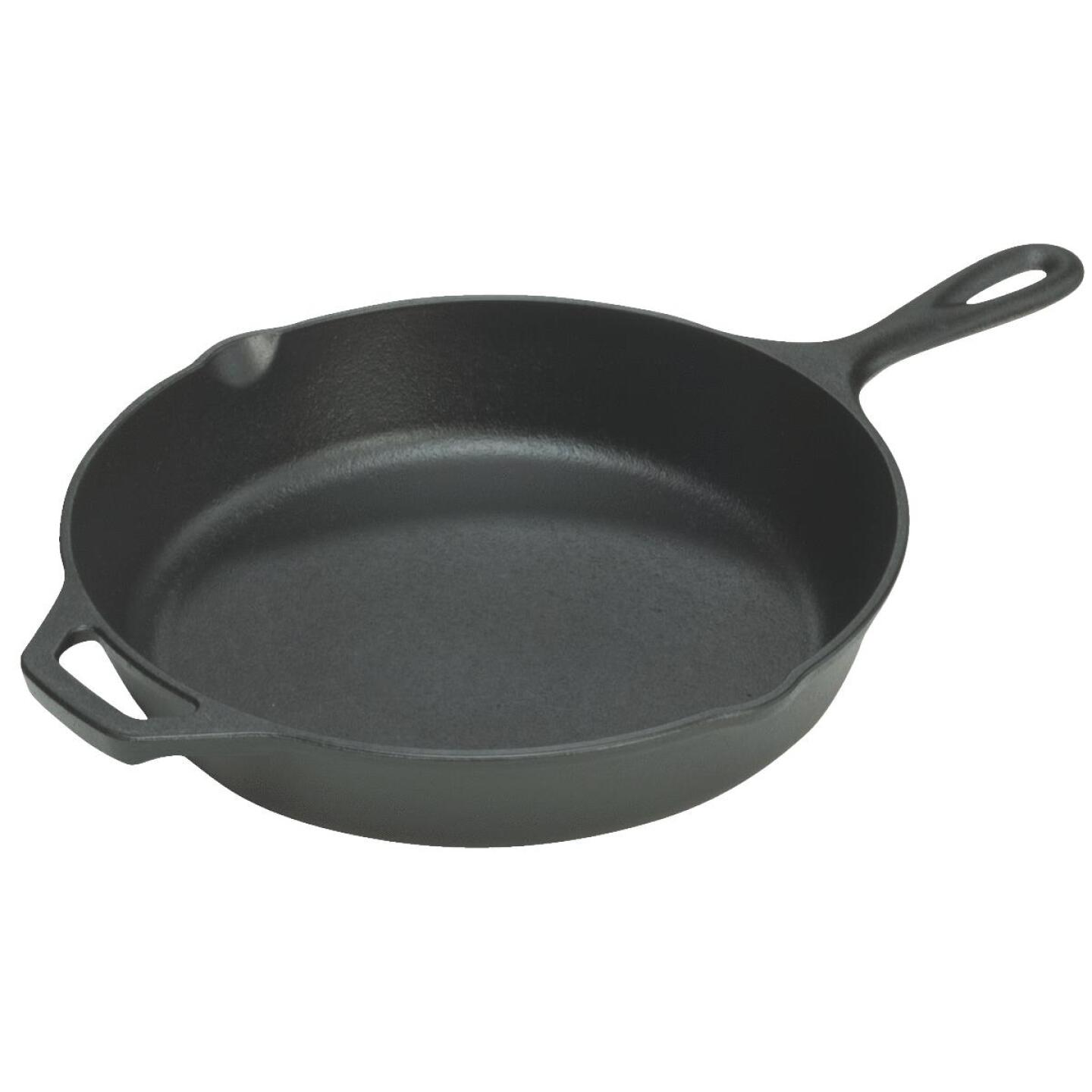 Lodge 15-1/4 In. Cast Iron Skillet with Assist Handle Image 1