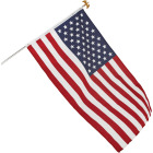 Valley Forge 3 Ft. x 5 Ft. Polycotton American Flag & 6 Ft. Pole Kit Image 3