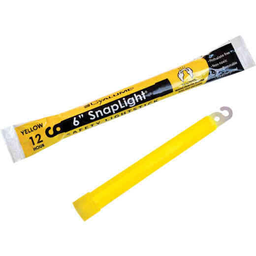 Cyalume 6 In. Snaplight Yellow Glow Stick